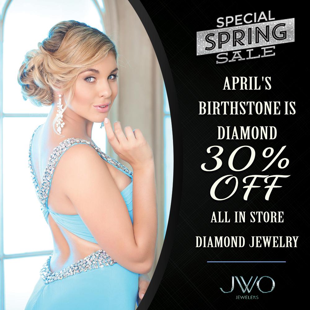 Monthly jewelry specials