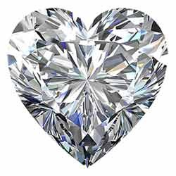 heart-shaped-diamond shapes