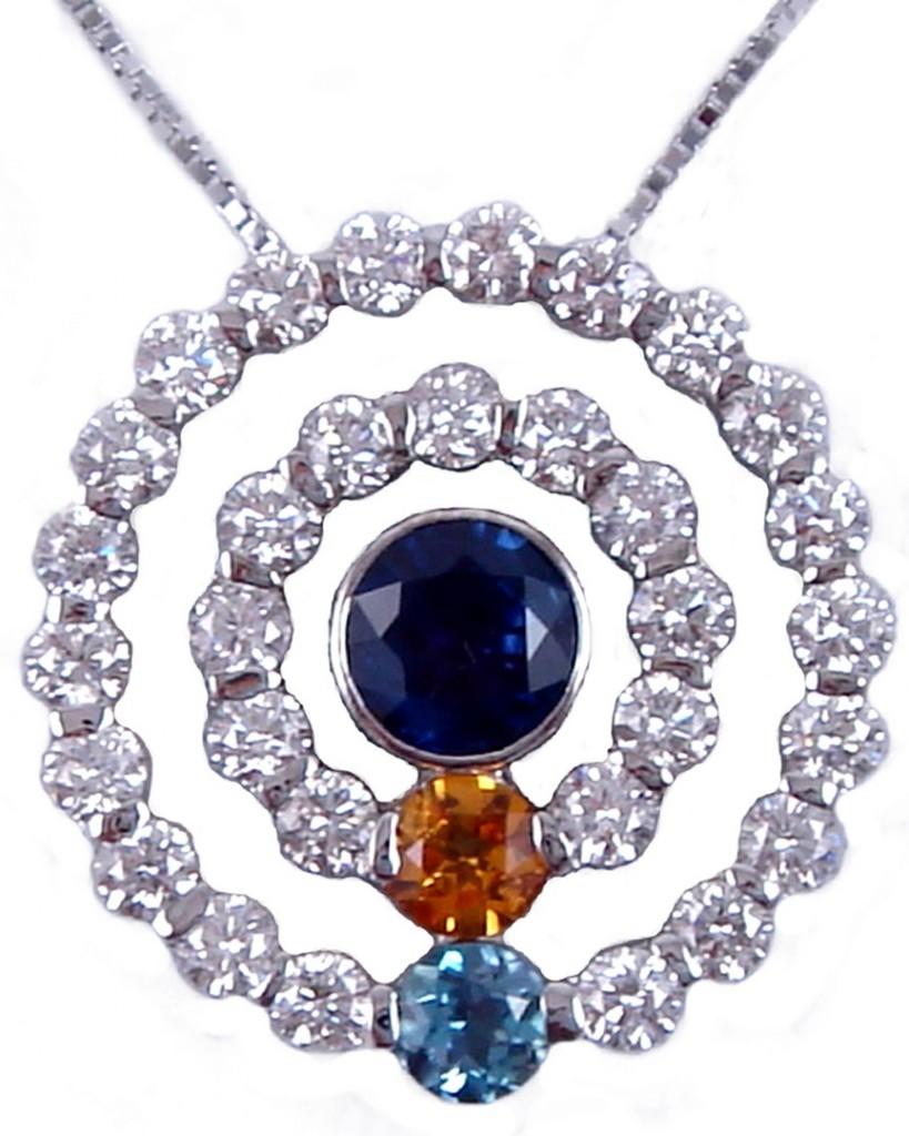 Jwo jewelers diamond sapphire amber aquamarine custom custom design pendant aloadofball Gallery