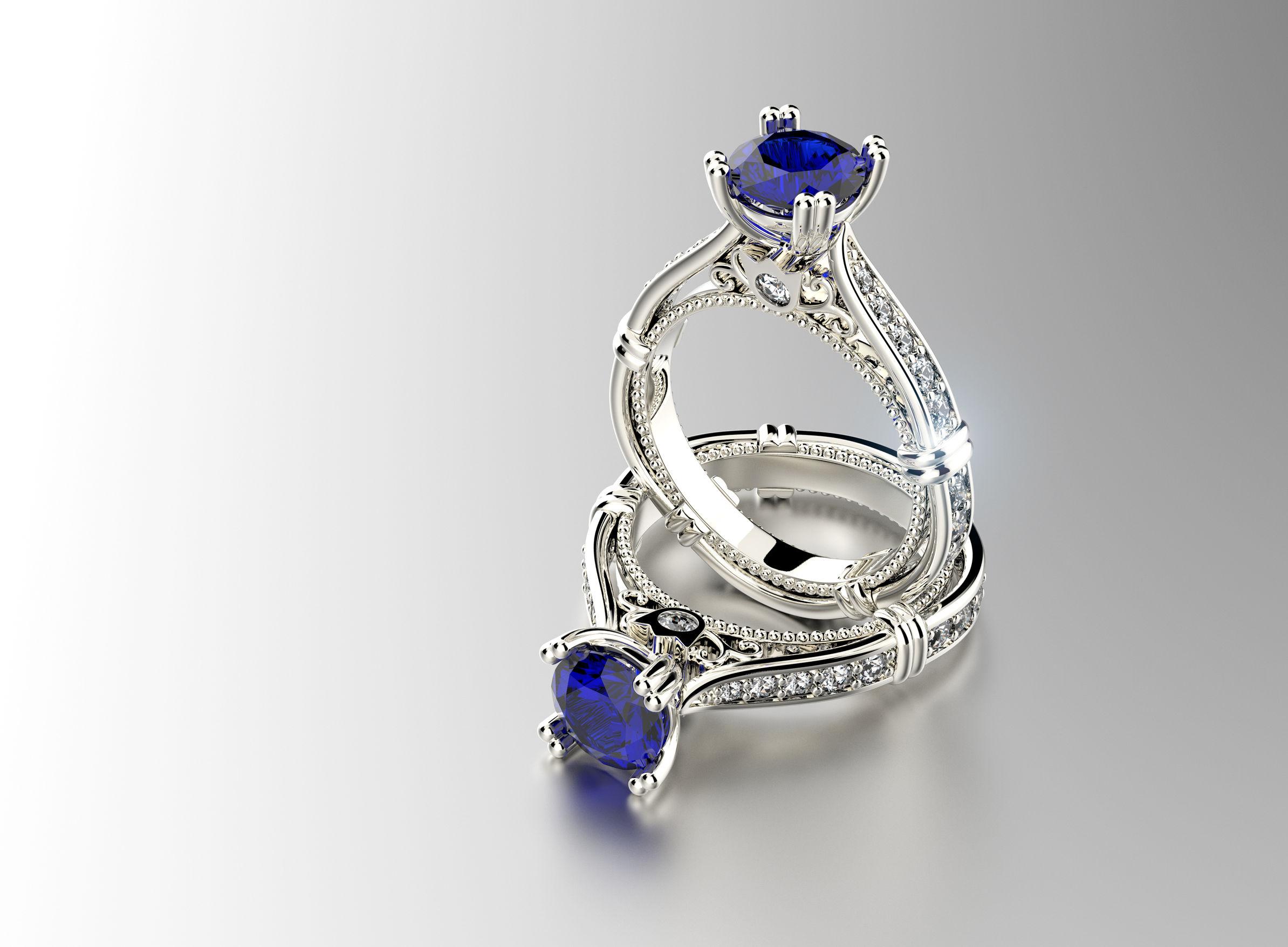 second generation jeweler Sapphire jewelry