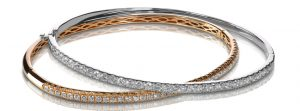 Jewelry Repair and Sales. Rose Gold and Yellow Gold Diamond Bracelets