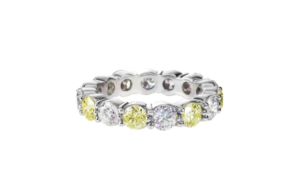 Custom Diamond Engagement Ring Design -Diamond Band