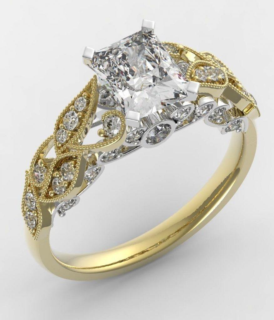 JWO Jewelers custom engagement jewelry design by JWO