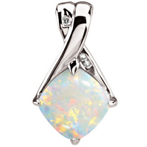 October Birthstones are unique and the Opal is often found in Australia