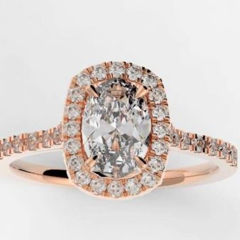 Popular Engagement Rings and Diamonds include the Oval as a center stone. JWO Jewelers - Love To Create with Krist Hochburger Diamond Engagement Rings - Jwo Jewelers