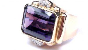 Vintage Amethyst Ring