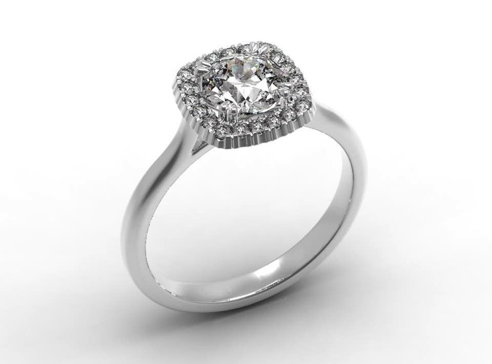 Classic Engagement Diamond Rings Design